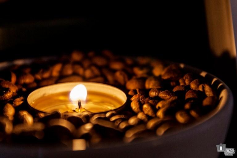 50/365 Waxinelichtje met koffiegeur