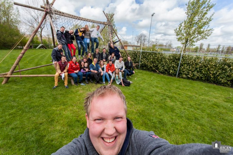 103/365 Groepsfoto selfie!