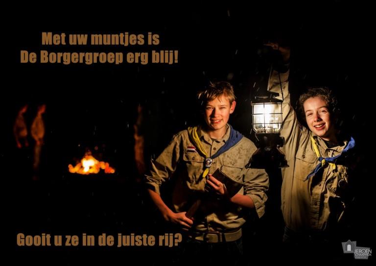 Poster Scouts Poiesz actie 2015 DEFINITIEF (Kopie)